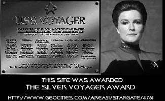 The Silver Voyager Award