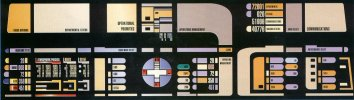 USS Enterprise NCC-1701-D Conn Station