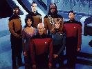 The Enterprise D Crew