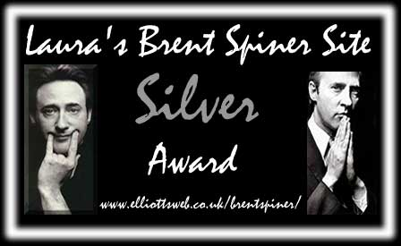 Laura's Brent Spiner Site Silver Award