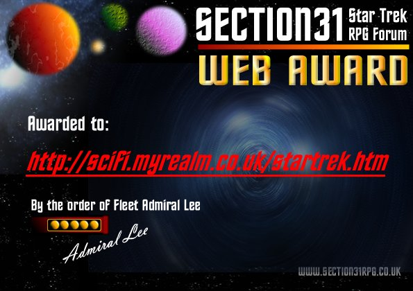 Section 31: Web Award